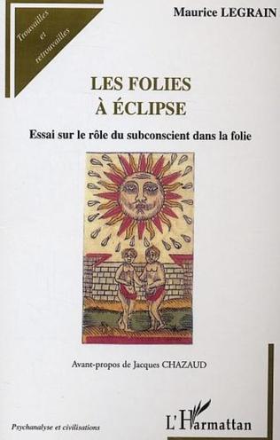 Couverture Les folies à éclipse