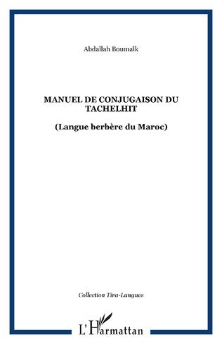 Couverture Manuel de conjugaison du tachelhit