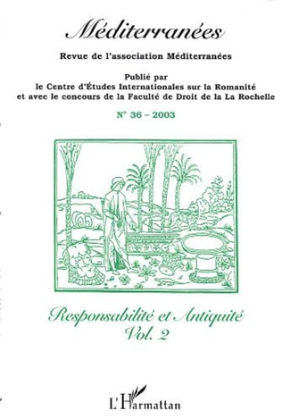 Couverture Responsabilité et Antiquité Vol. 2