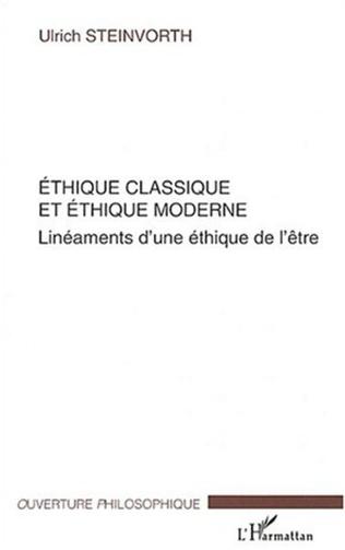 Couverture Ethique classique et éthique moderne