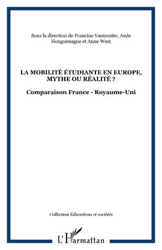 Couverture La mobilité étudiante en Europe, mythe ou réalité ?