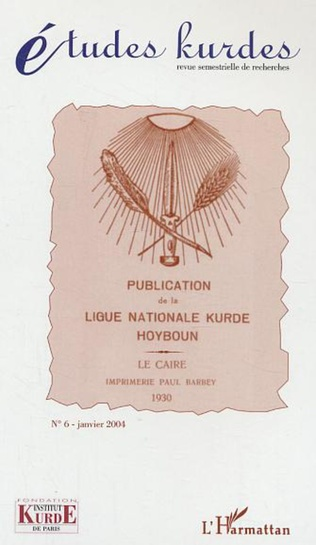 Couverture Publication de la ligue nationale kurde Hoyboun