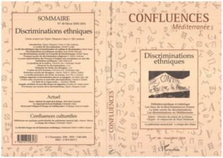 Couverture La notion de discrimination