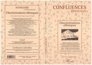 Couverture Discriminations ethniques
