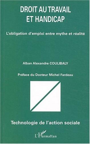 Couverture Droit au travail et handicap