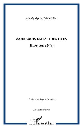 Couverture Sahraouis exils - identités