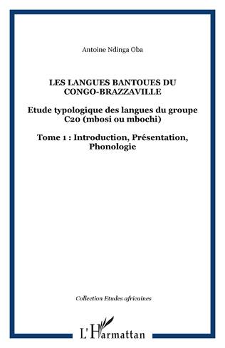 Couverture Les langues Bantoues du Congo-Brazzaville