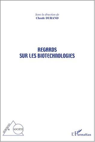 Couverture Regards sur les biotechnologies
