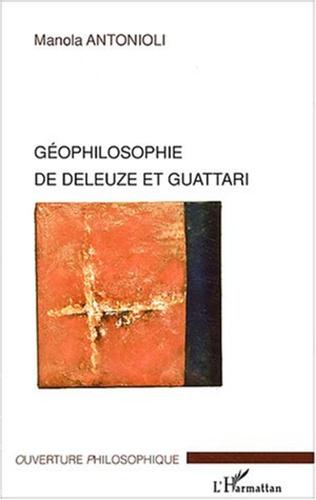 Couverture Géophilosophie de Deleuze et Guattari