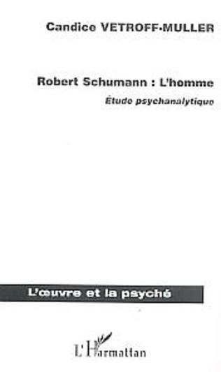 Couverture Robert Schumann