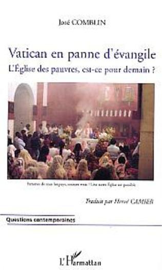 Couverture Vatican en panne d'évangile