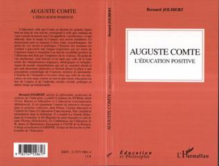 Couverture Auguste Comte - L'éducation positive