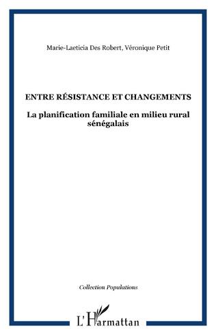 Couverture Entre résistance et changements