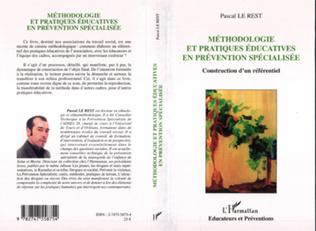 Couverture Méthodologie et pratiques éducatives en prévention spécialisée