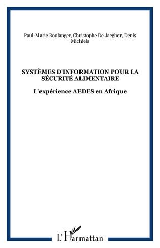 Couverture Systèmes d'Information pour la Sécurité Alimentaire