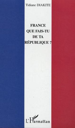 Couverture France que fais-tu de ta République ?