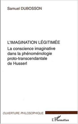 Couverture L'imagination légitimée