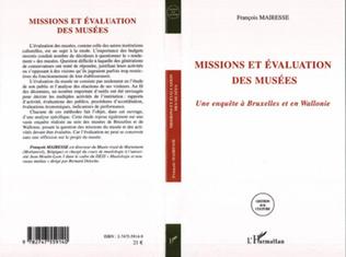 Couverture Missions et évaluations des musées
