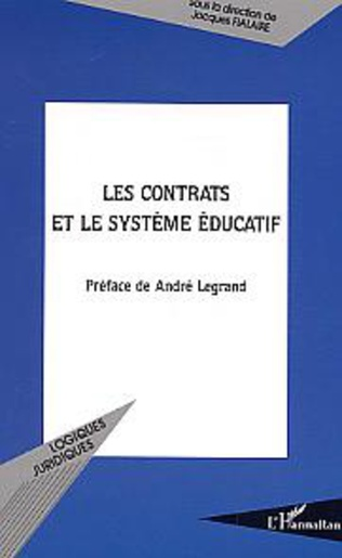 Couverture Les contrats et le système éducatif