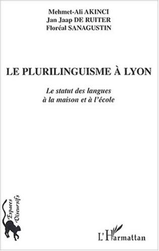Couverture Le plurilinguisme à Lyon