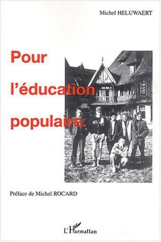 Couverture Pour l'éducation populaire