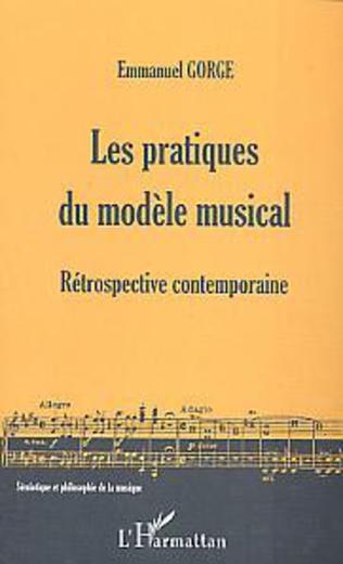 Couverture Les pratiques du modèle musical