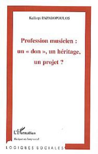 Couverture Profession musicien : un