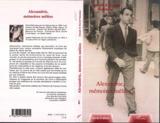Couverture Alexandrie, mémoires mêlées
