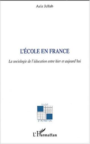 Couverture L'école en France