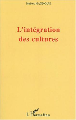 Couverture L'intégration des cultures