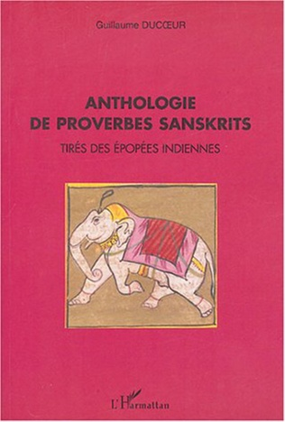 Couverture Anthologie de proverbes sanskrits