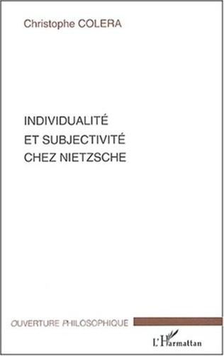 Couverture Individualité et subjectivité chez Nietzsche