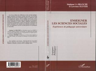 Couverture Enseigner les sciences sociales