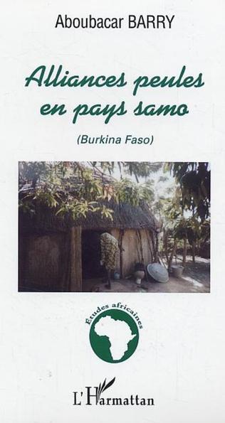 Couverture Alliances peules en pays samo