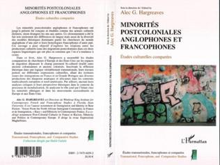 Couverture Minorités postcoloniales anglophones et francophones