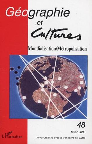 Couverture Mondialisation/Métropolisation