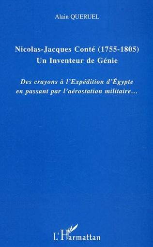 Couverture Nicolas-Jacques Conté (1755-1805) Un inventeur de génie