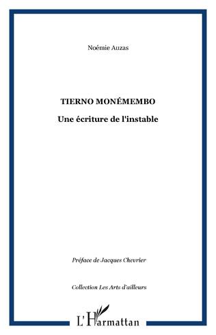 Couverture Tierno Monémembo