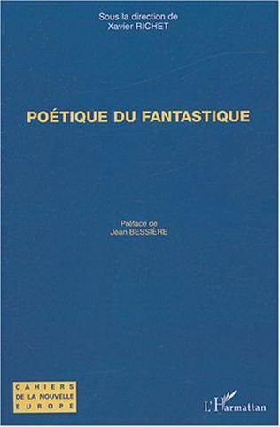 Couverture Poétique du fantastique