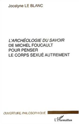 Couverture L'archéologie du savoir de Michel Foucault pour penser le co