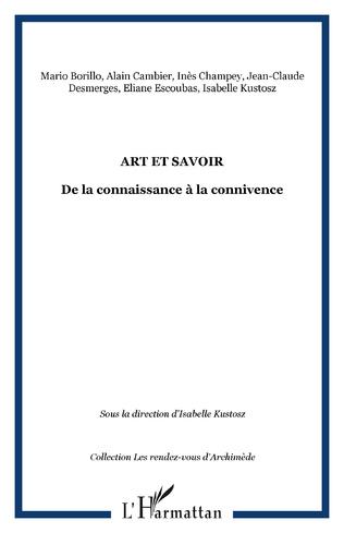 Couverture Art et savoir
