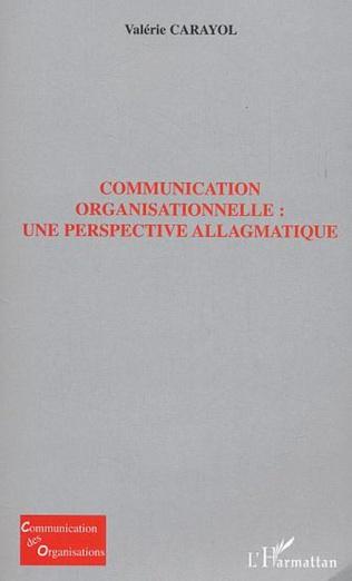 Couverture Communication organisationelle