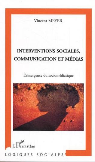 Couverture Interventions sociales, communication et médias