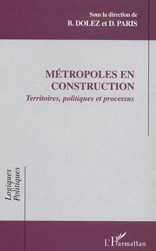 Couverture Métropoles en construction