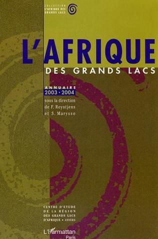 Couverture Annuaire 2003-2004