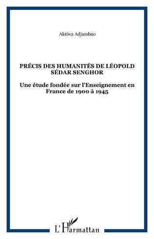 Couverture Précis des humanités de Léopold Sédar Senghor