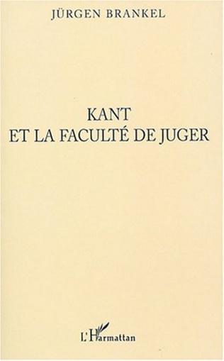 Couverture Kant et la faculté de juger