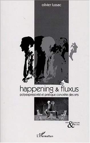Couverture Happening and fluxus