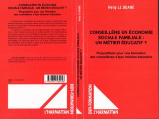 Couverture Conseillère en économie sociale familiale : un métier éducatif