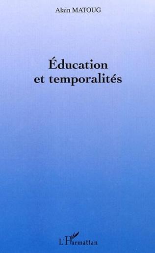 Couverture Education et temporalités